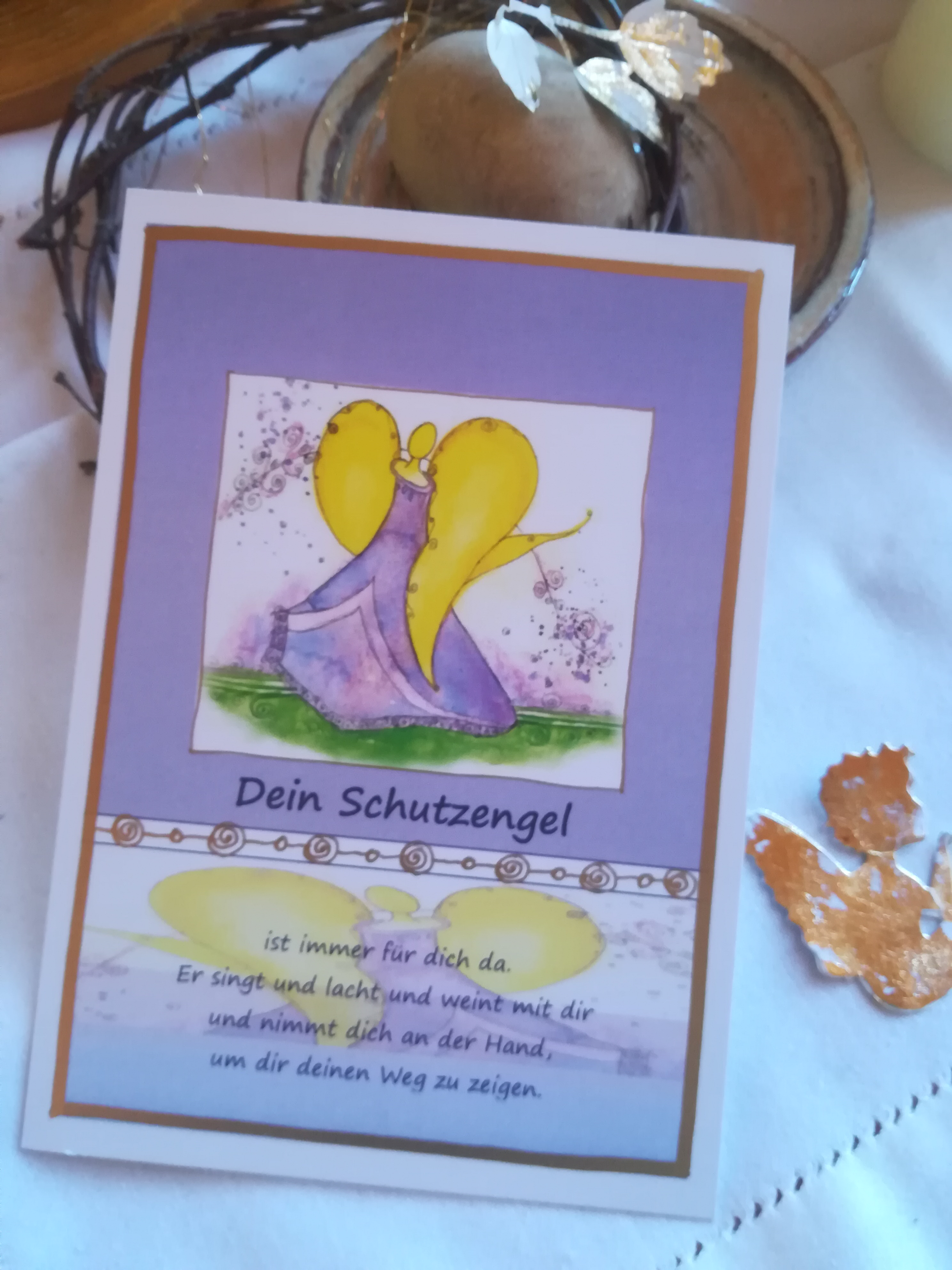 "Postkarte ""Dein Schutzengel"""