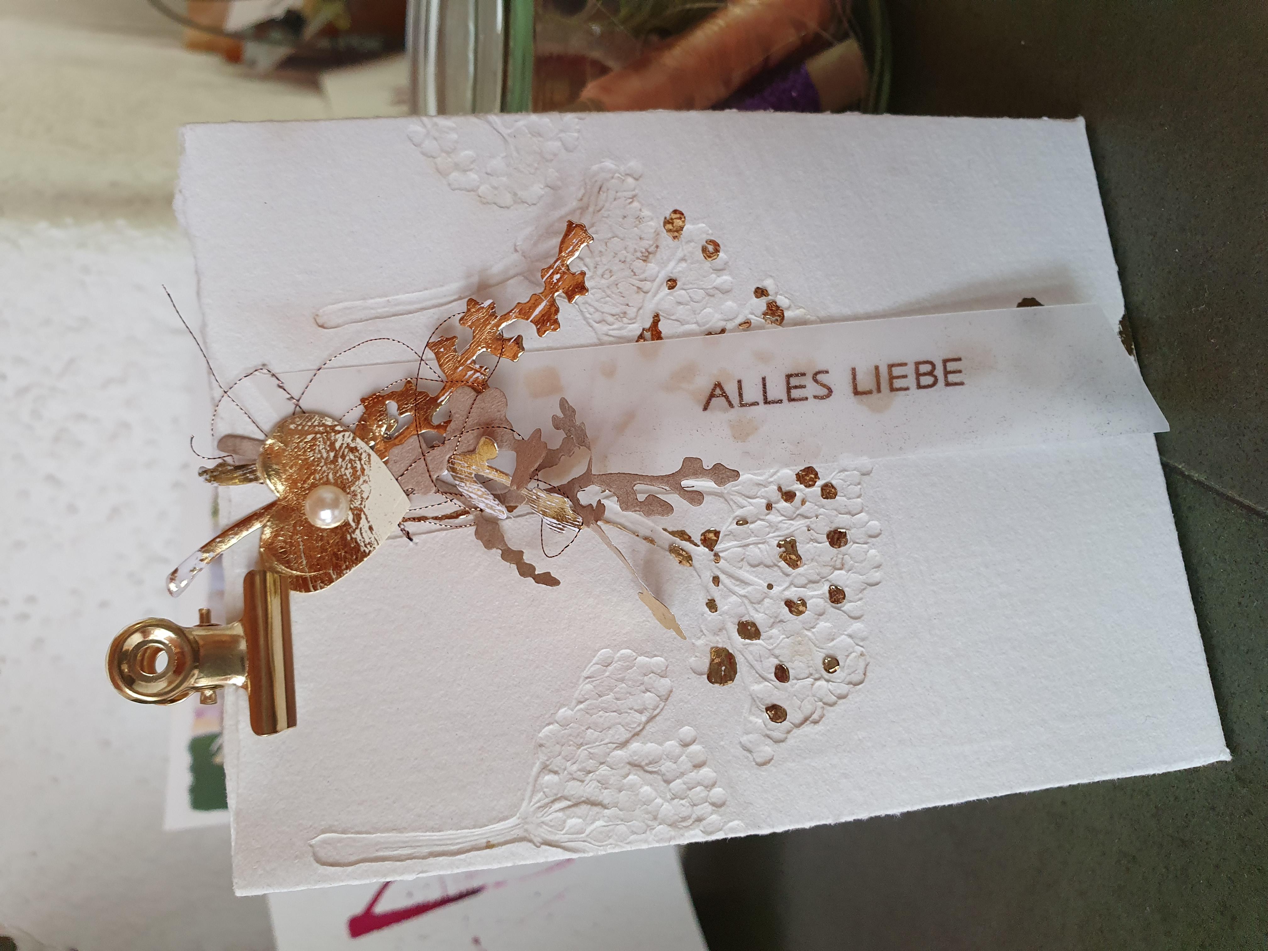 """Geschenk-Tasche """"Alles Liebe"""""""